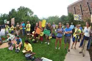 Citizens Showing Support for Clean Energy